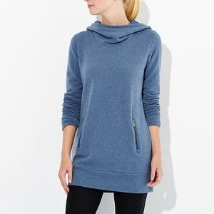 Lucy Heathered Blue Inner Light Pullover